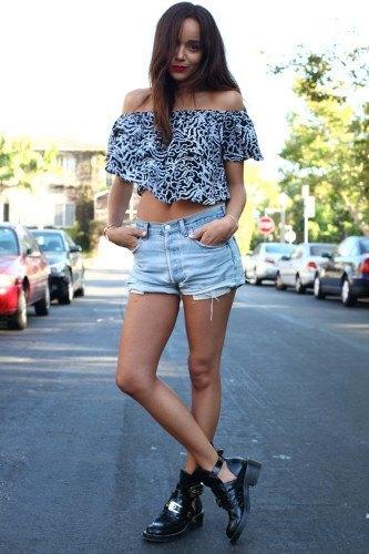 Boyfriend Shorts Outfits-16 Ways to Wear Boyfriend Shor