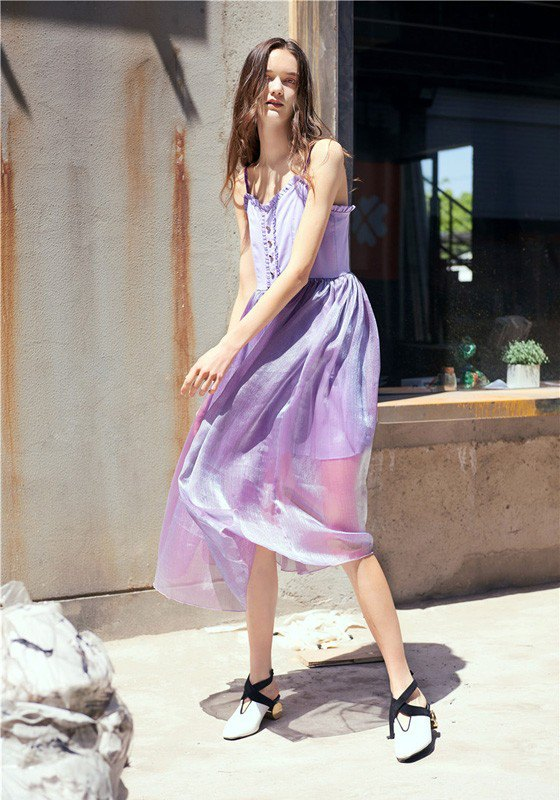 How to Wear Lavender Maxi Dress: 15 Breezy & Refreshing Looks .