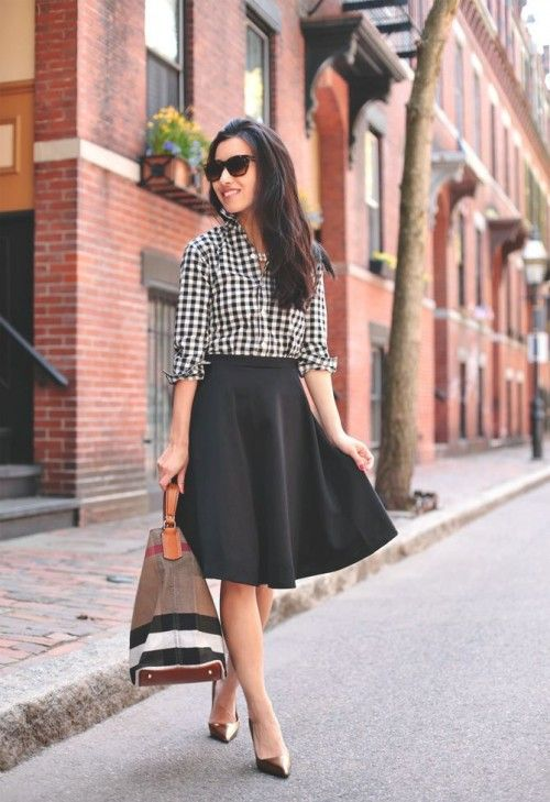Spring 2015 Trend: 25 Stylish Gingham Outfits | Styleoholic .