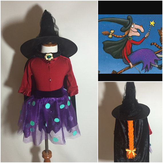 Room on the Broom Kids/Toddler Skirt Hat and Cape in 2020 | Room .