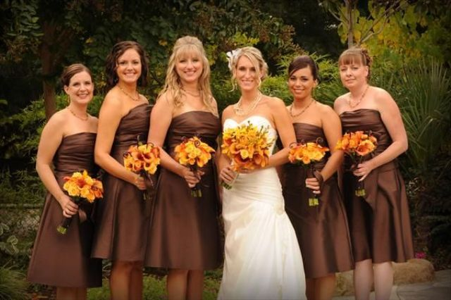 22 Chic Strapless Bridesmaid Dress Ideas For Fall Weddings .