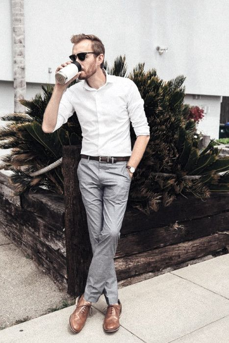 Business Casual Attire For Men - 70 Relaxed Office Style Ideas .