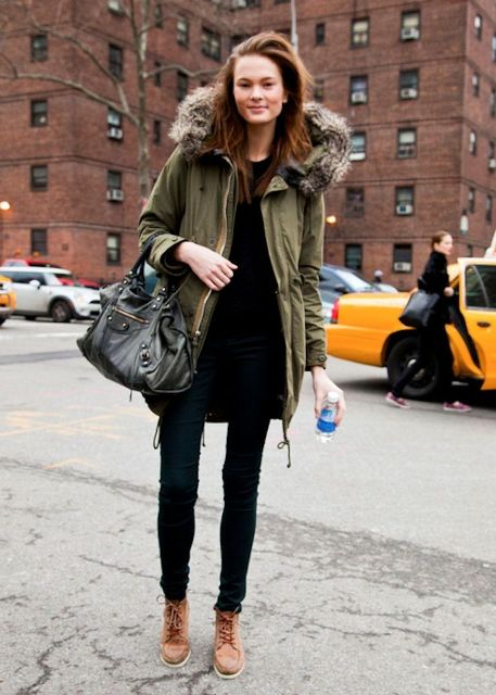 20 Fur Parka Outfit Ideas For Women - Styleohol
