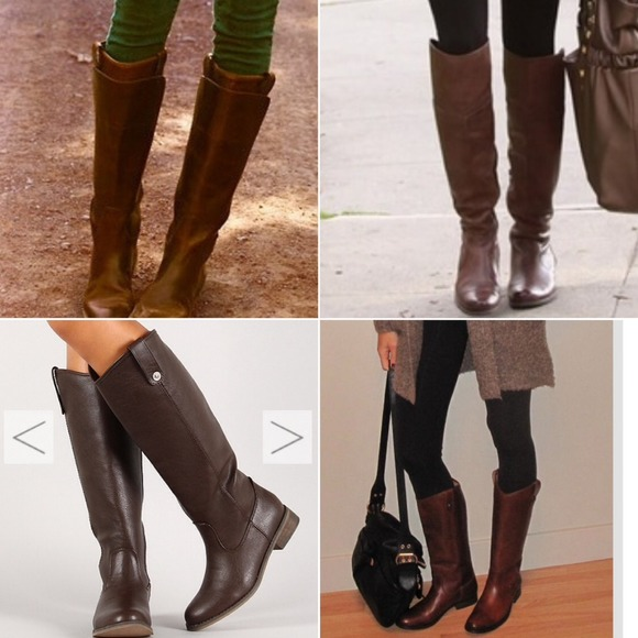 Breckelles Shoes | Last Pricechocolate Brown Riding Boots | Poshma