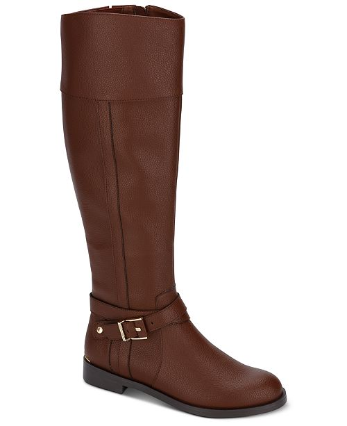 Kenneth Cole Reaction Women's Wind Riding Boots & Reviews - Boots .