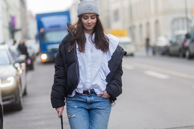 20 Cute Puffer Coat Outfits Inspired by Street Sty