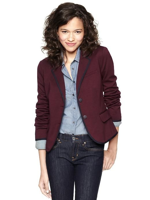 Ponte academy blazer Product Image | Blazer outfits for women .