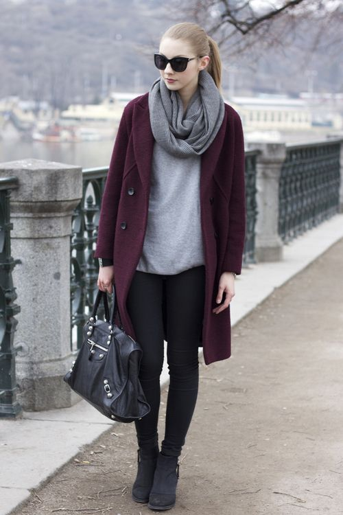 Elite Street Style | Stylish winter coats, Hot winter outfits .