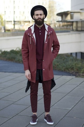 How to Wear a Burgundy Polo For Men (24 looks & outfits) | Men's .