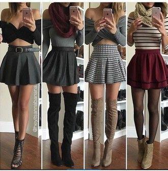 skirt skater skirt mini skirt high waisted skirt burgundy skirt .