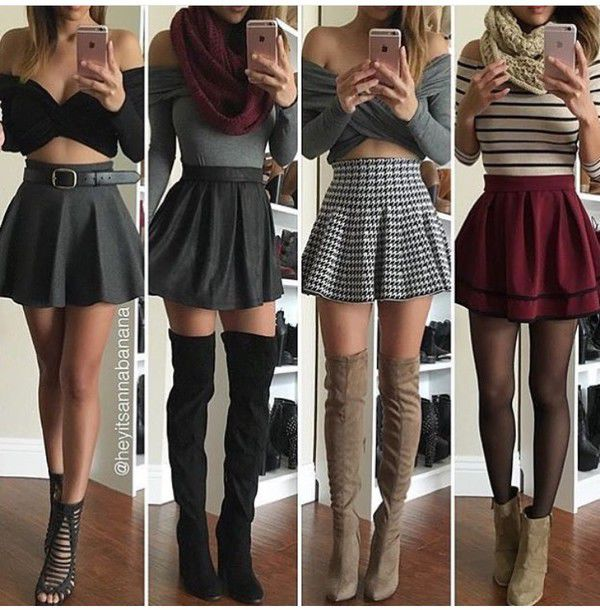 dress, skirt, burgundy, cute, outfit, where can i get this outfit .