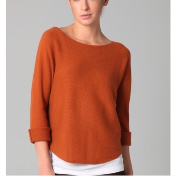 Vince Sweaters | Burnt Orange Sweater | Poshma