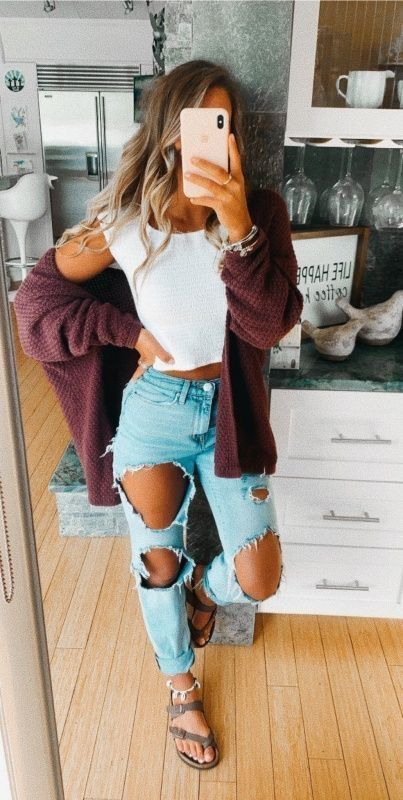 Pin by Desarae on Outfits in 2020 | Cute casual outfits, Casual .