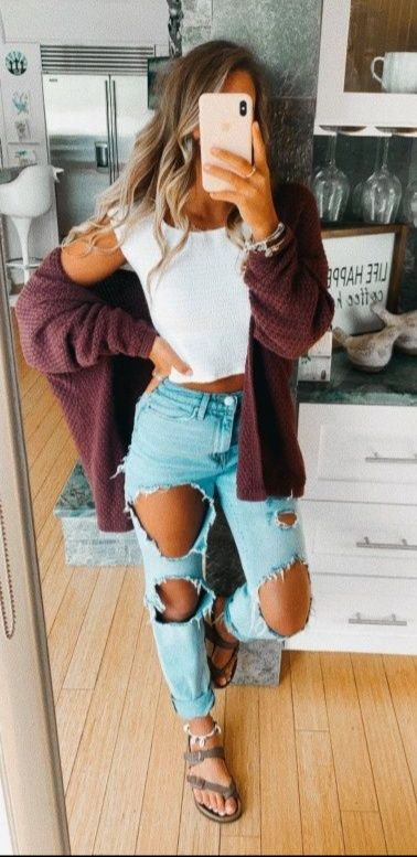 Pin by Mara Swartz on cute outfits   Cute casual outfits, Casual .