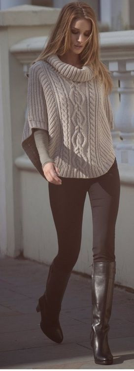 Cable Knit Sweaters Outfit Ideas 2020 | FashionTasty.c