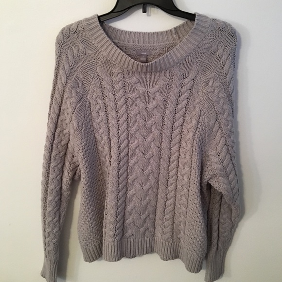 aerie Sweaters | Womens Cable Knit Sweater | Poshma