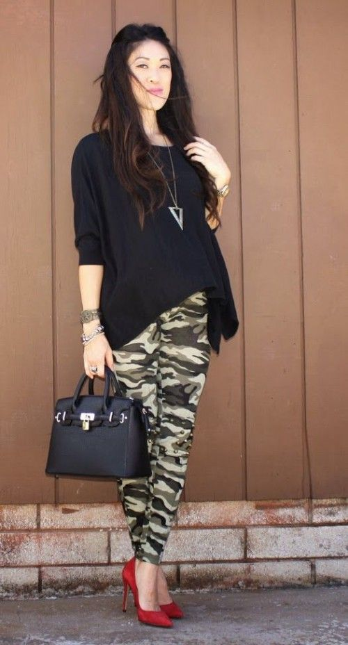 How To Wear Camo To Work: 17 Ideas | Styleoholic | Camouflage .