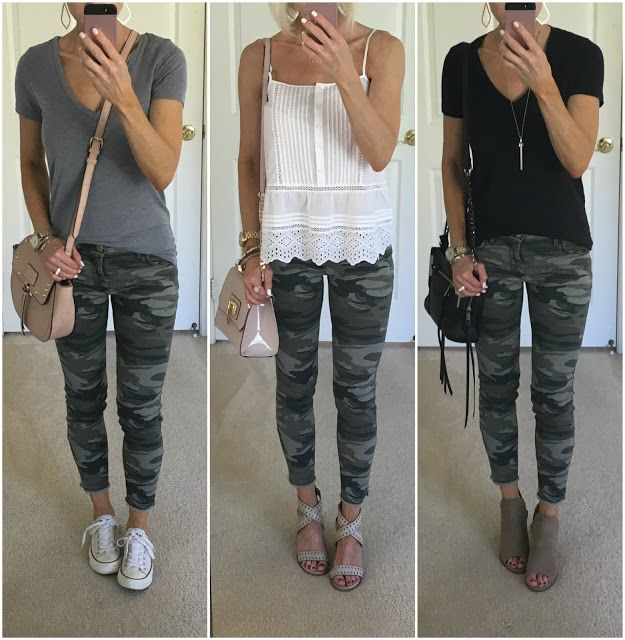 Camo Jeans Outfit Ideas in 2020 | Camo jeans outfit, Camo outfits .