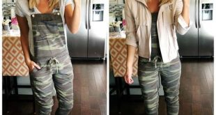How to Style Camo // How to Style Camo Overalls // How to Style .