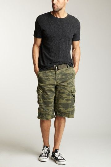 XRAY | Jeans Cargo Short | Mens camo shorts, Well dressed men .
