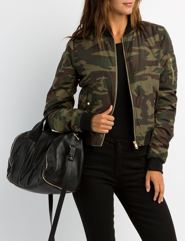 How to Wear Camo Windbreaker: Best 13 Boyish Outfit Ideas for .