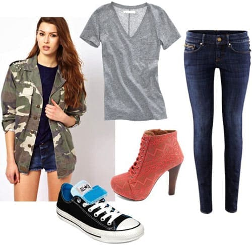 How to Wear a Camouflage Print Jacket - College Fashi