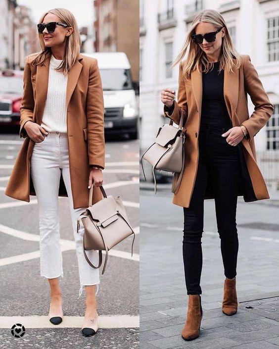 31 Ways How To Wear Camel Coats For Women 2020 - LadyFashioniser.c