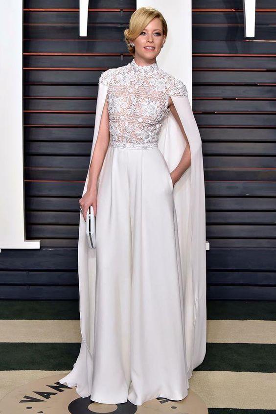 40+ Jumpsuit Wedding Dresses Ideas | Elegant lace tops, Bridal .