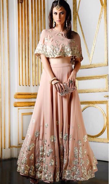 The Cape Dress Decoded | Indian wedding guest dress, Indian .