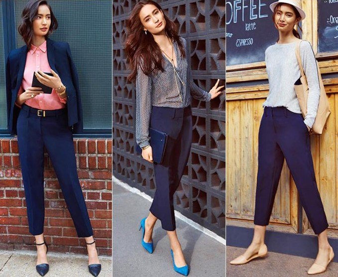 Women Cropped Pants Outfits- 20 Ideas How To Wear Crop Pan