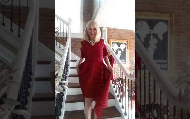Crazy Carol Sings Vers 2 (Christmas Dress) Lotta Love By Nicolette .