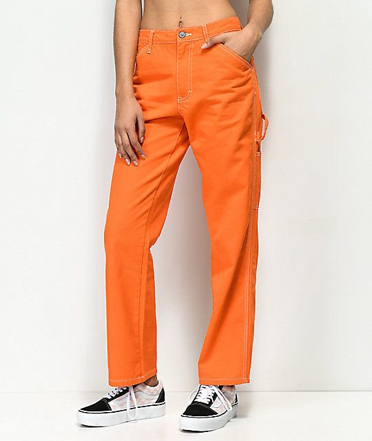 Dickies Orange Carpenter Pants | Zumi