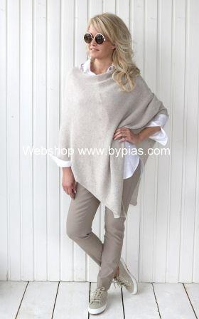 Cashmere Poncho, BEIGE | Женская мода, Наряды, Модные иде