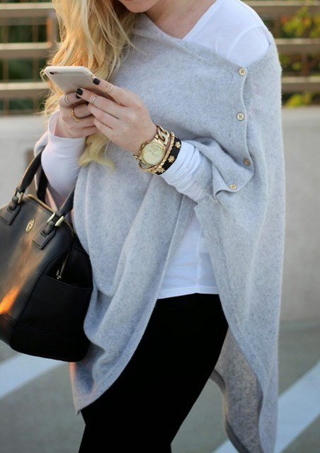 How to Wear Cashmere Wrap: Top 15 Outfit Ideas - FMag.c