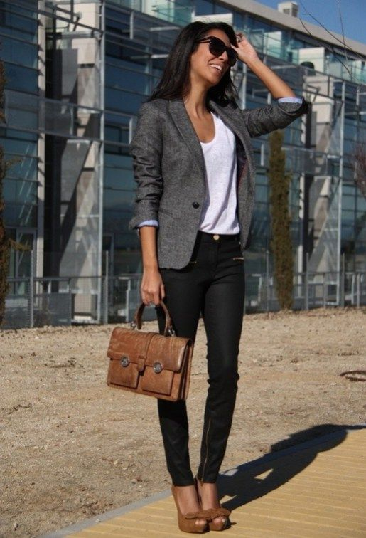 232 Casual Blazer Outfit for Women You Must Have | Blazer outfits .