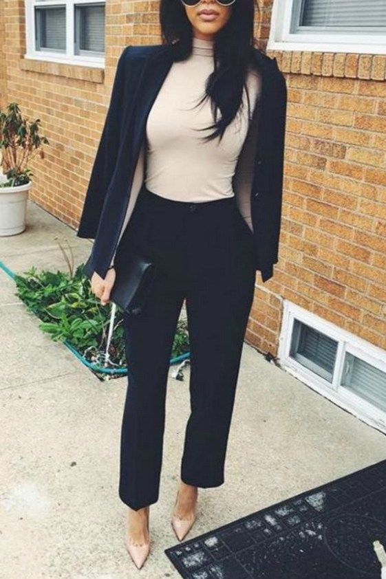 130+) Cute Blazer Outfits For Women | Work fashion, Professional .