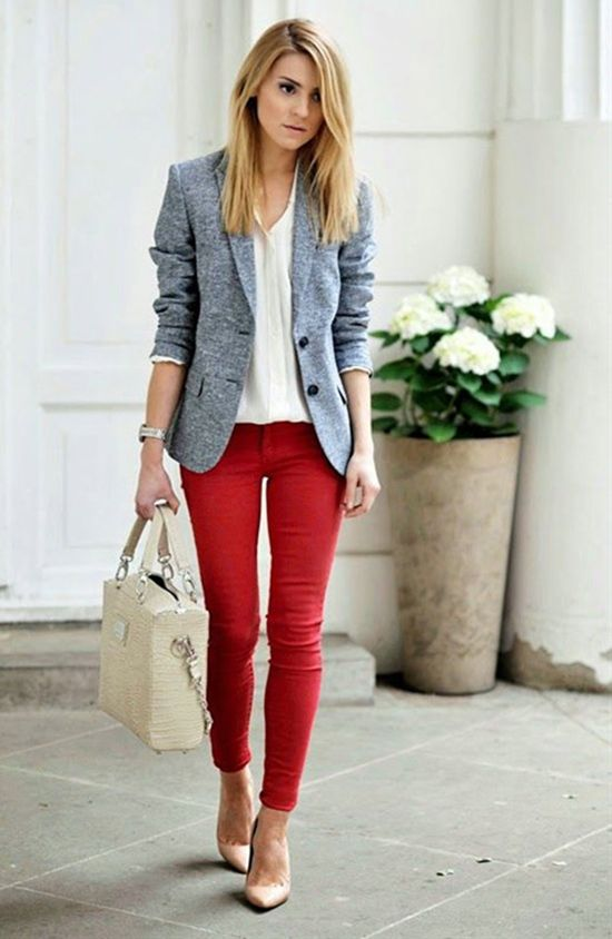 23 Fall Business Casual Outfits For Girls | Spring work outfits .