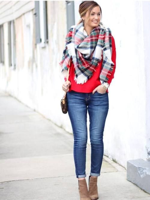 Winter outfits ideas in pop colors | Cute christmas outfits, Red .