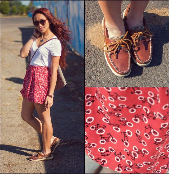 Outfit Ideas to Wear with Women's Sperry Shoes | Sperrys, Women's .