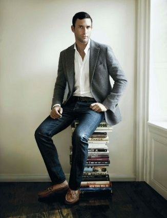 Stylist Tip for Men: How to Wear a Sport Coat   Sports coat, jeans .