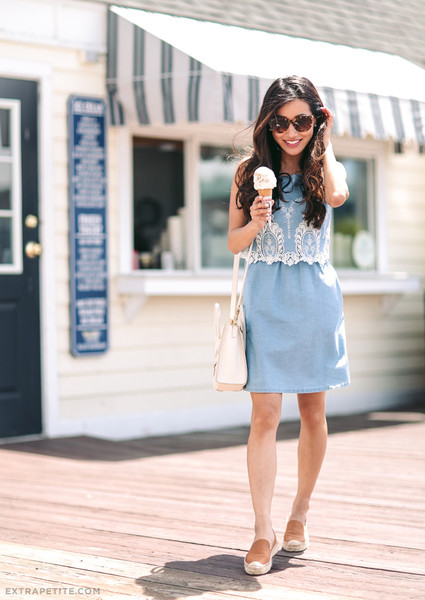 A Chambray Dress and Slip-Ons - Outfit Ideas That'll Keep You Chic .