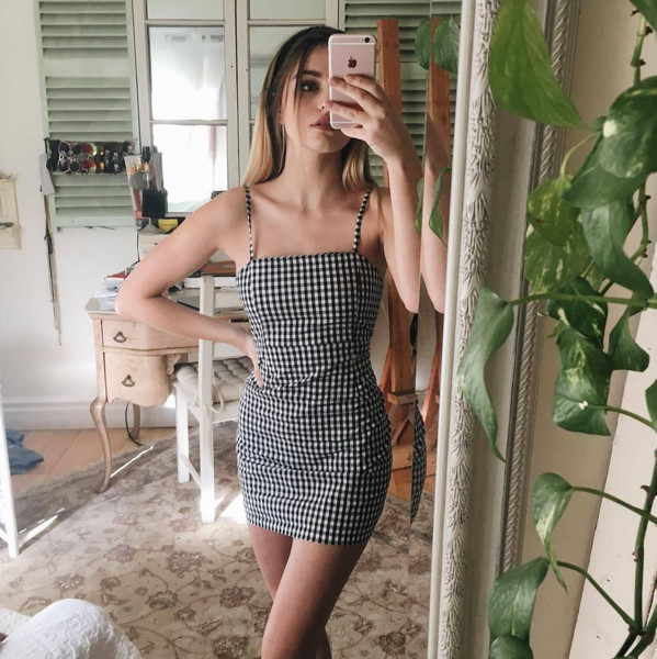 Little Checkered Dress - Chic Outfit Ideas That Prove Checkered .
