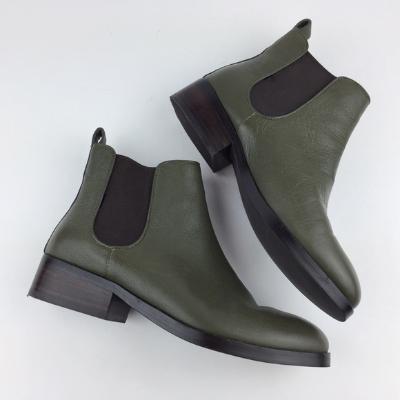 Cole Haan Shoes | Chelsea Boots Olive Green Womens Size 5 | Poshma