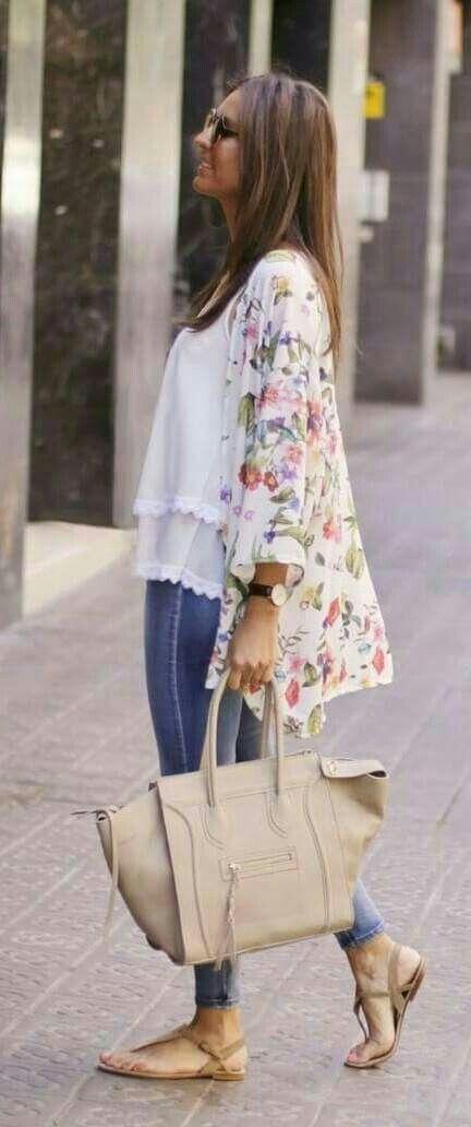 Chiffon Kimono Cardigan | Kimono fashion, Casual kimono, Fashi