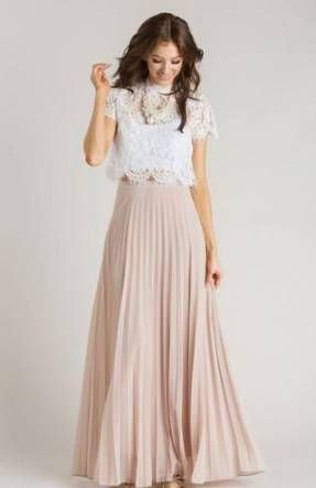 Vintage wedding guest outfit maxi skirts 63 ideas #wedding .