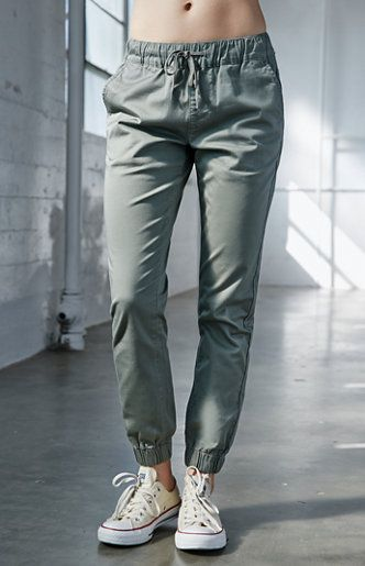 Bullhead Denim Co. Chino Twill Drawcord Jogger Pants at PacSun.com .