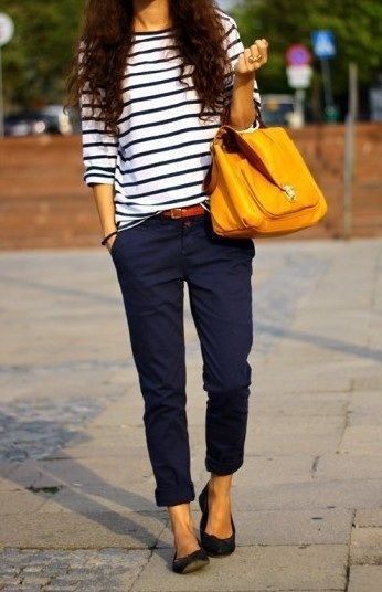 how to wear chinos women's - Google Search | Fashion, Style .