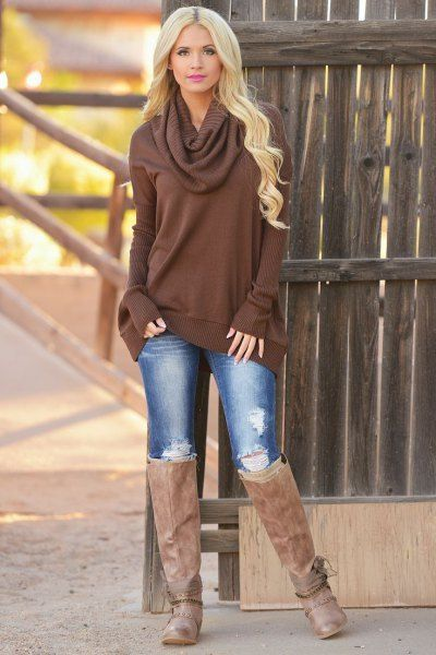 13 Amazing Chocolate Brown Dress Outfit Ideas | Fashion, Outfit .