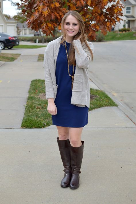 thanksgiving outfit idea | Thanksgiving outfit, Navy dress outfits .