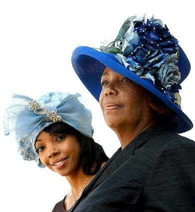 The Big, Bold Hats Of Black Church Ladies Are A Fading Tradition .